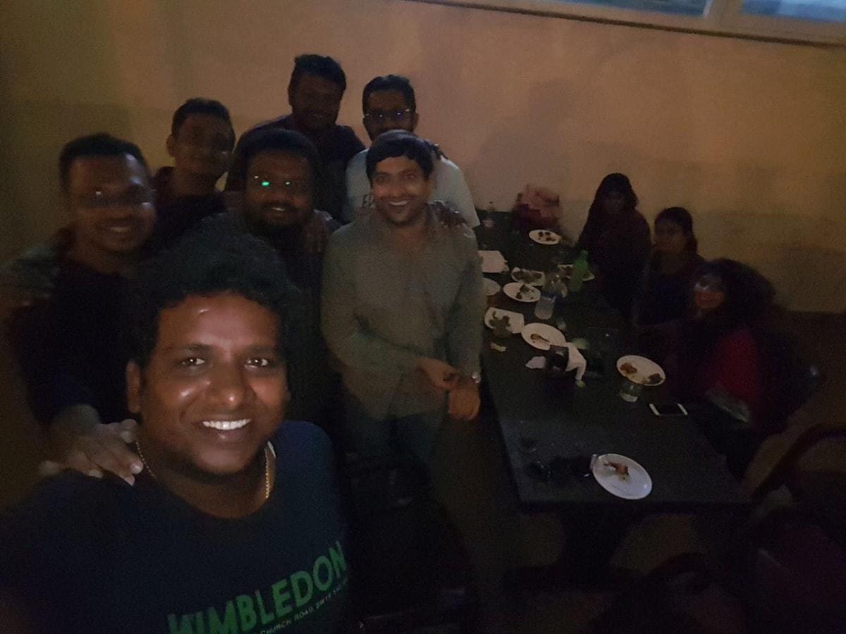 Dinner at City Club Elite