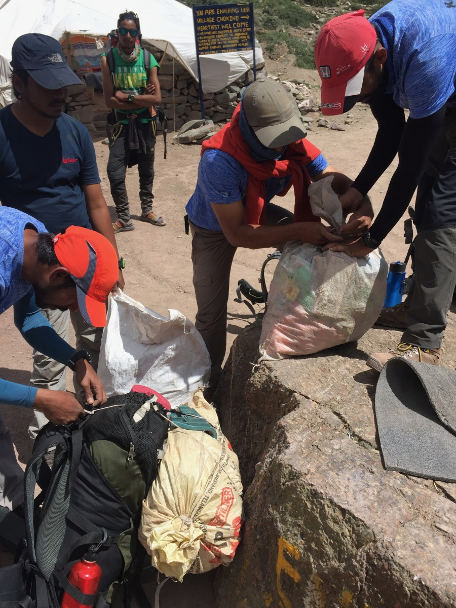 Publicity Kang Yatse Clean up Expedition