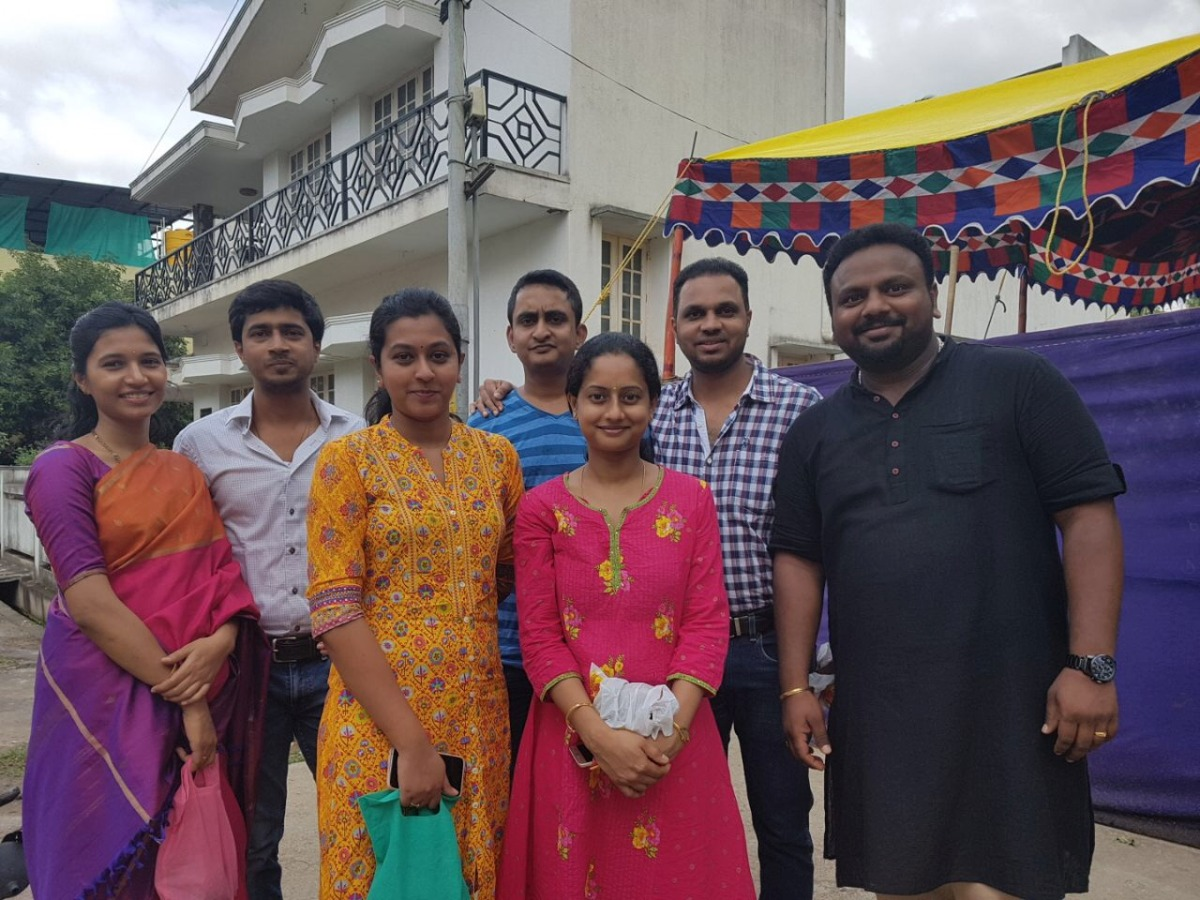 Lakshmi Pooja At Tr. Vinay's Home