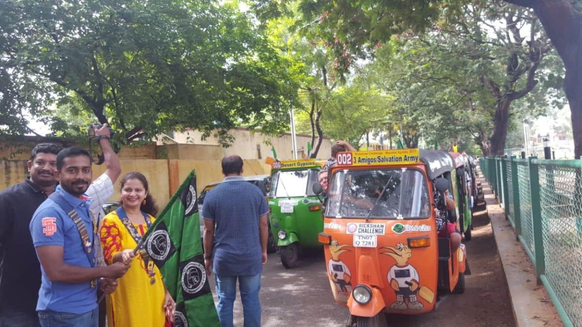 Auto Rickshaw Challenge