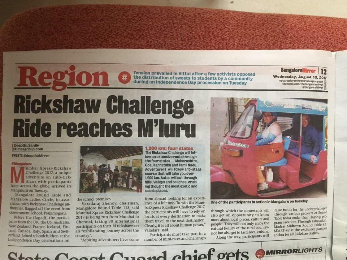 Rikshaw Challenge