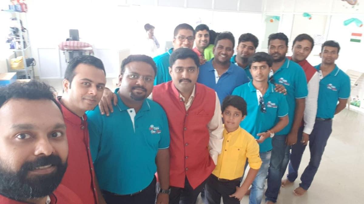 Donating OAE Machine To Sarji Institute