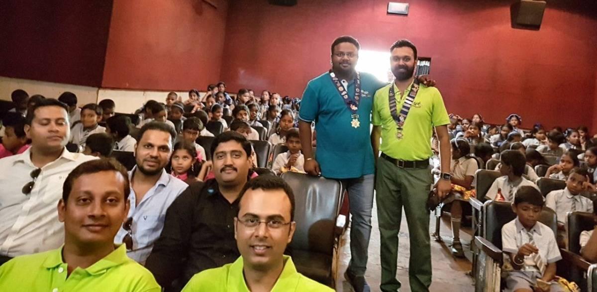 Toilet-Ek Prem Katha' movie project to school children