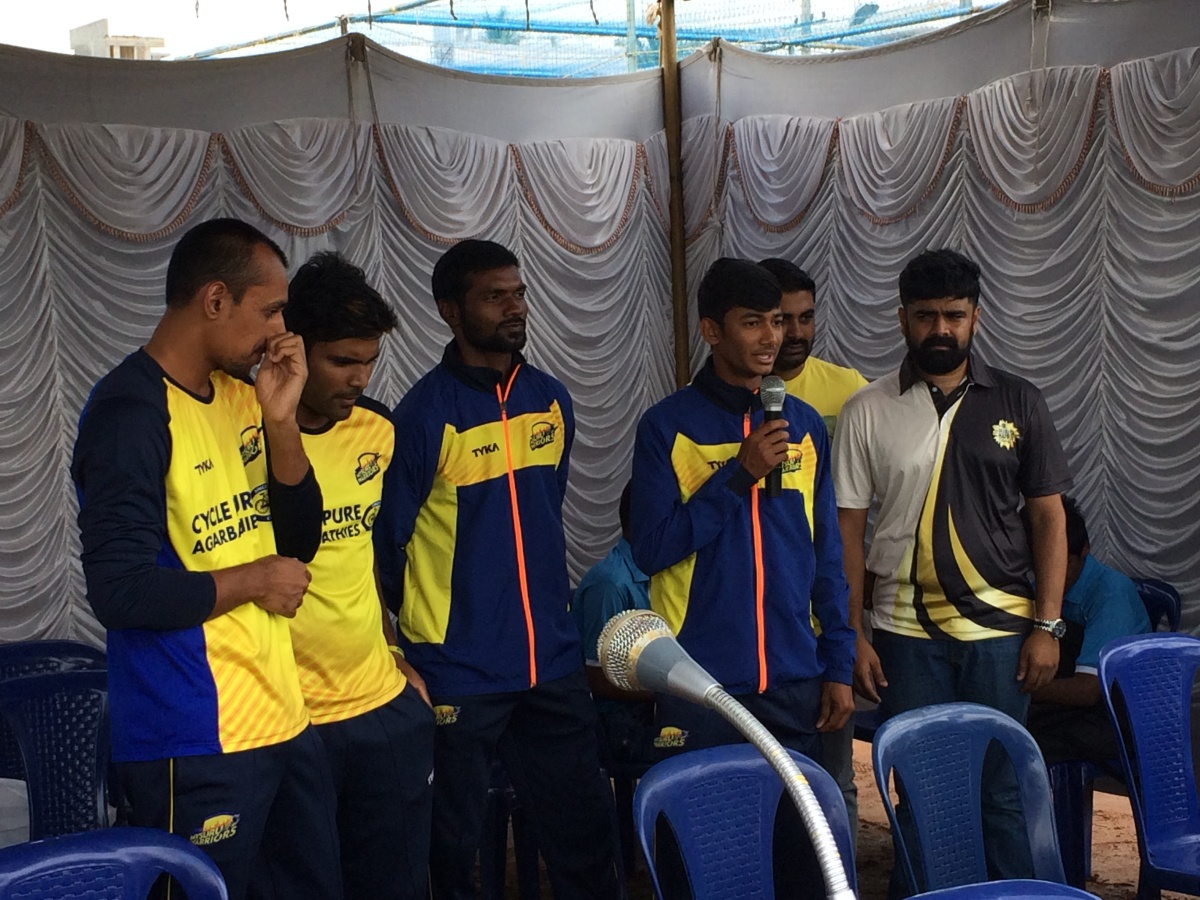 Cricket Tournament for the Visually Challenged