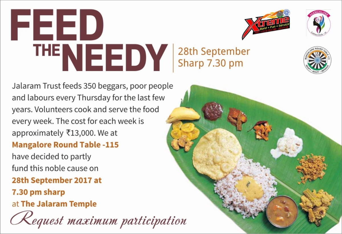 Feed The Needy