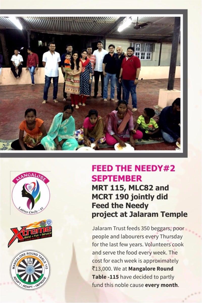 Feed the Needy