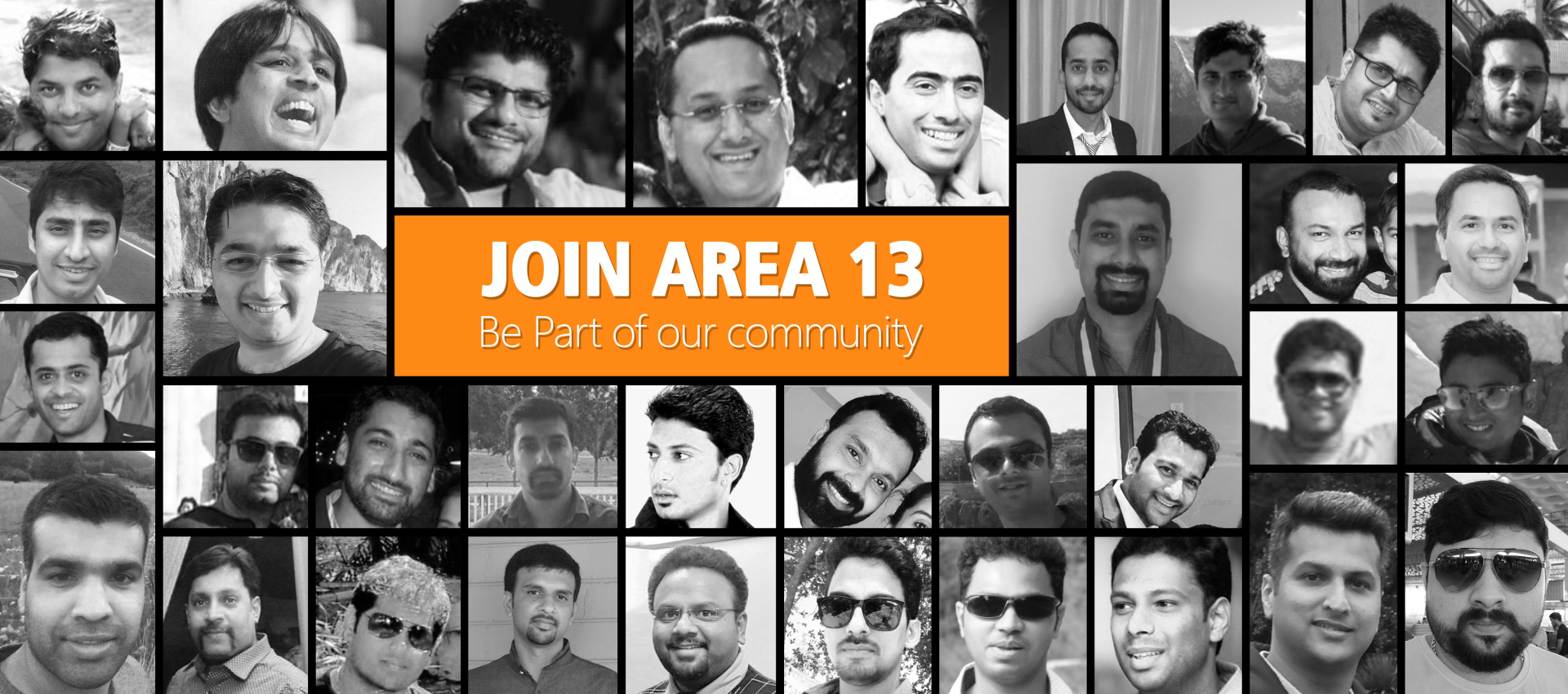Join Area 13 Collage
