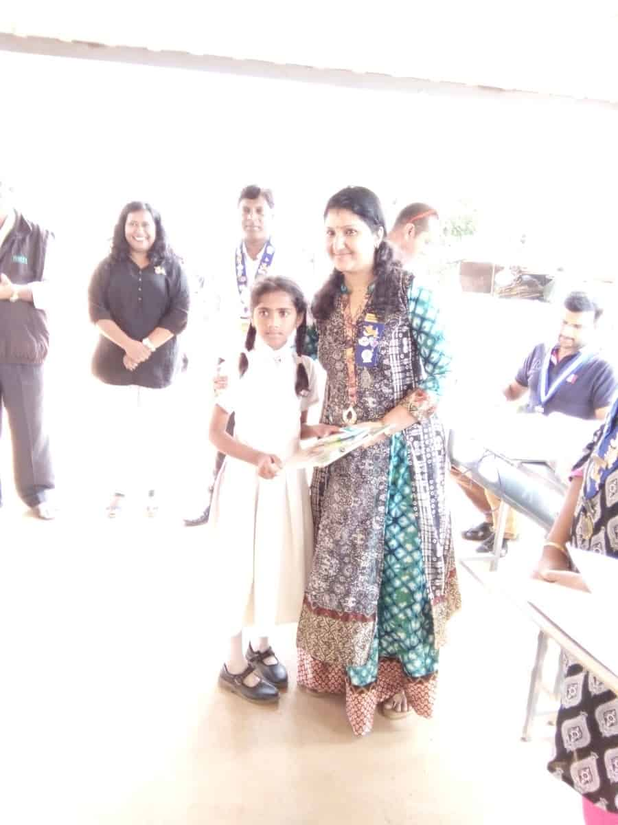 Awareness of girl child abuse and drawing competition