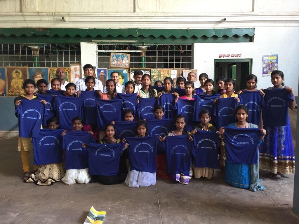 Chamundi School Jersey Distribution