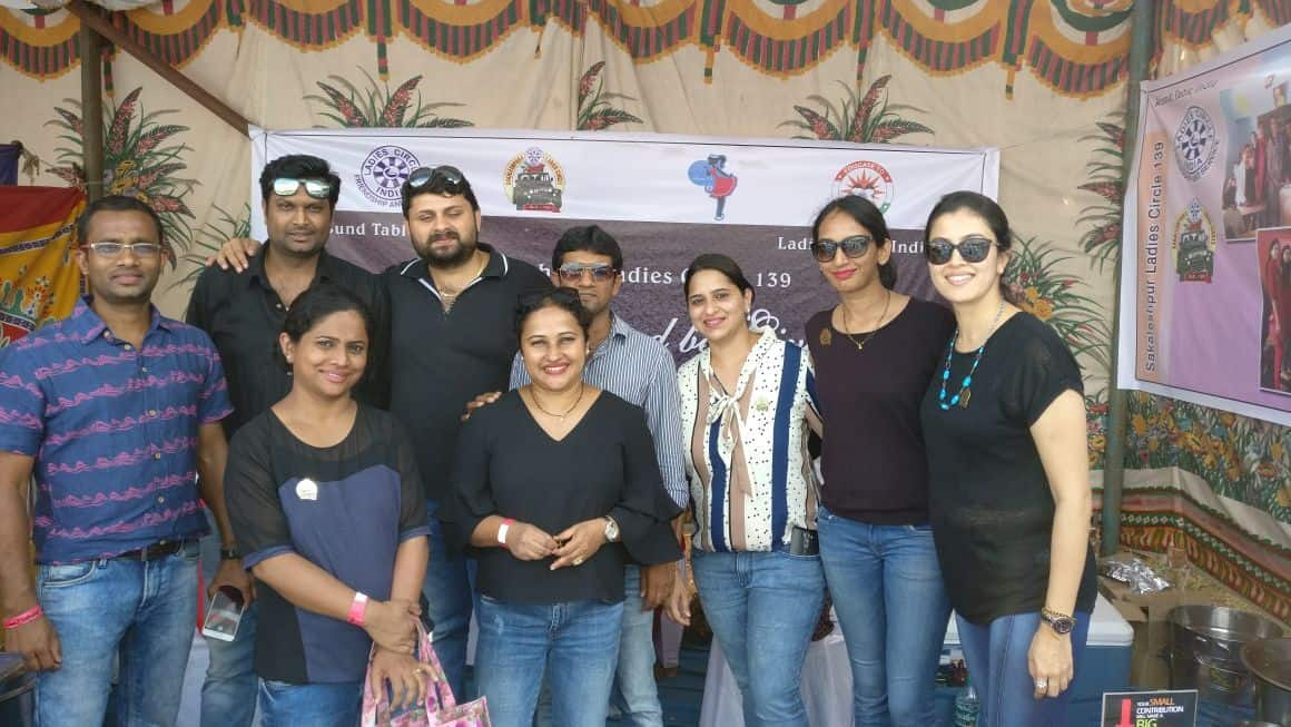 Fund raiser with Circlers Malnad Santhé Chikmagalur