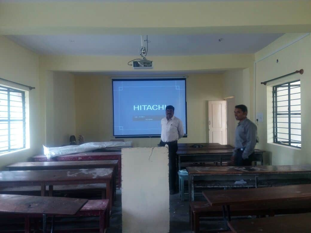 MHRT 109 Project at Girl's High School Nanjangud