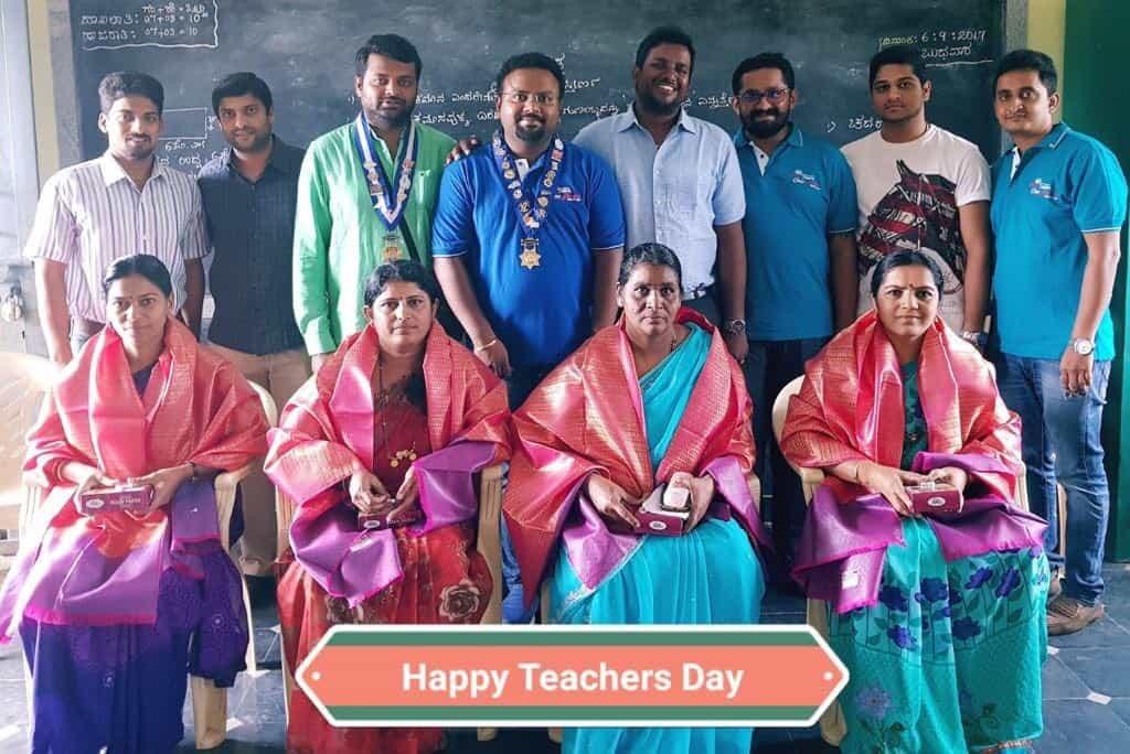 Honoring Teacher's on Teacher's Day