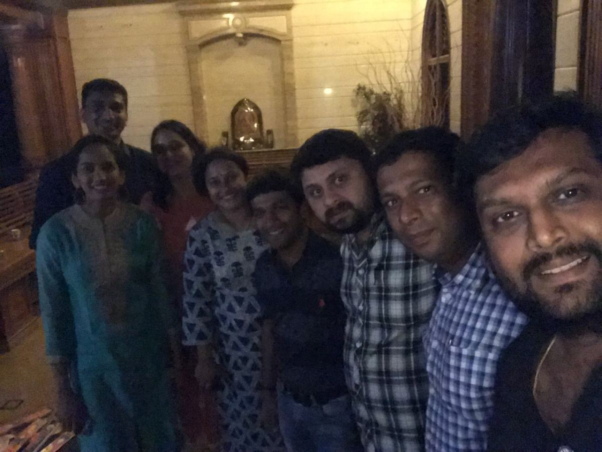 Family outing - Darshan's House