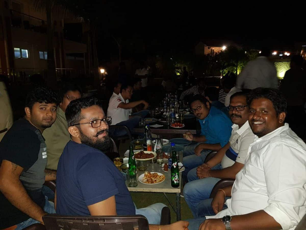 Kiran's son birthday party