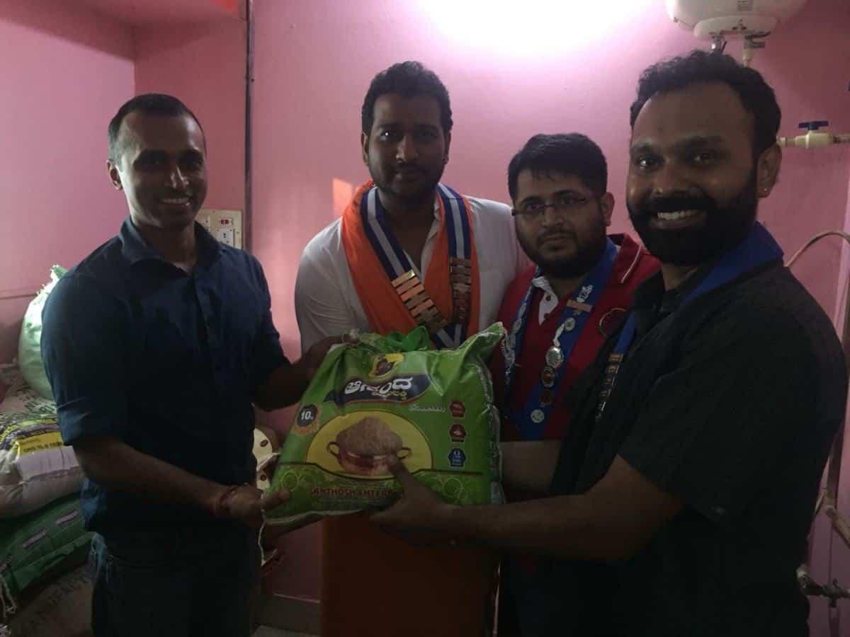 Donation of Groceries at Riya Foundation