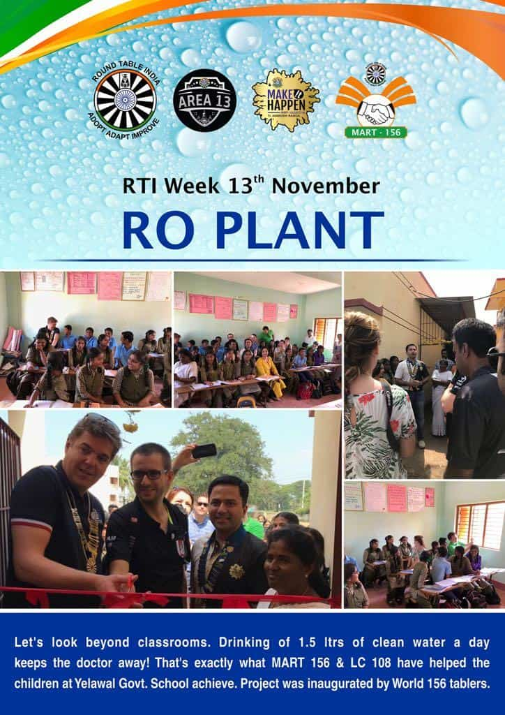 Drinking Water R.O Plant & Pen Distribution