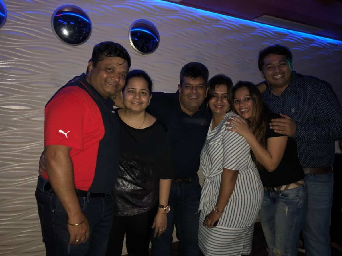 Ashwin & Divya's socials with induction of two new tablers