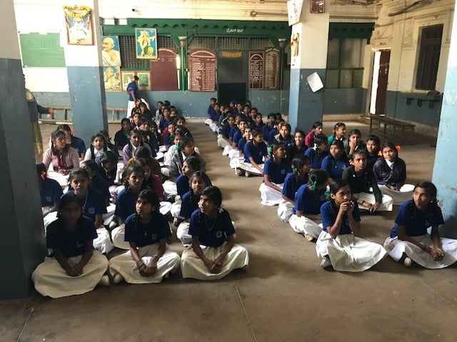 Good touch Bad touch class conducted at Chamundi school