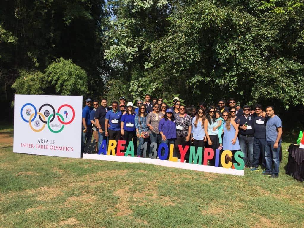 Area Olympics Event