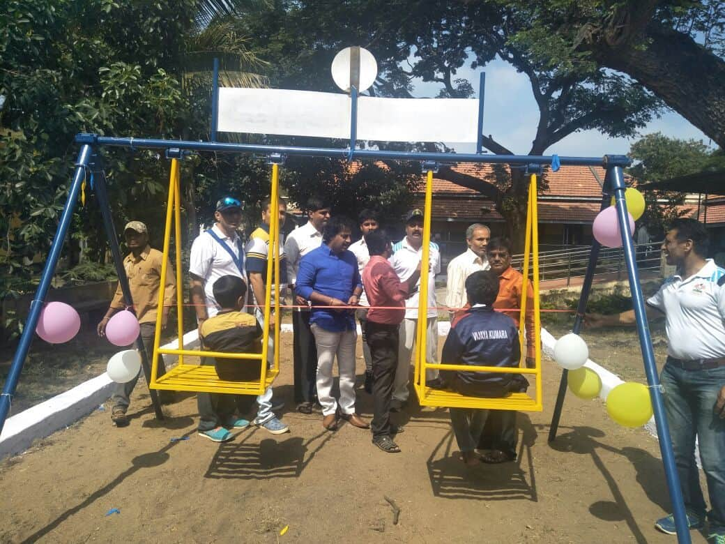 Playground Equipment Donation