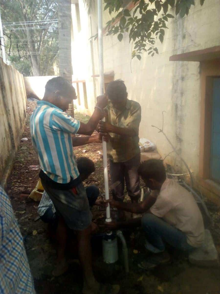 Replace and Repair of Bore well