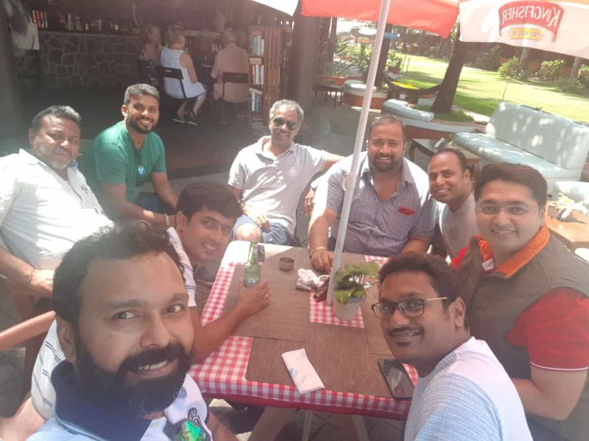 Fellowship with DRT 76 & AREA 13 Chairman