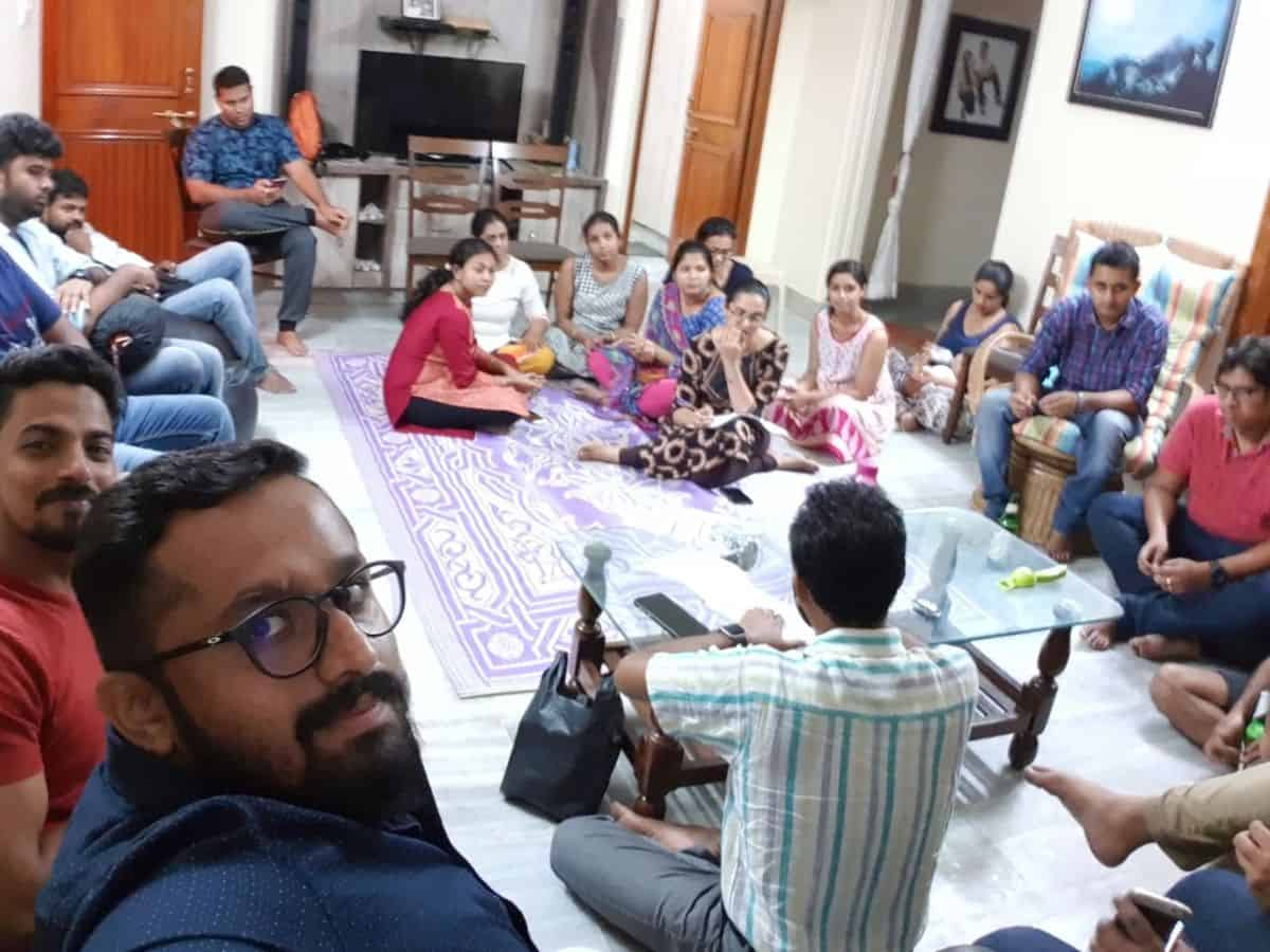Fellowship at Sriram's House