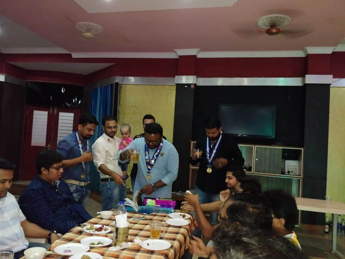 Fellowship @ TR . Raghunandan Socials