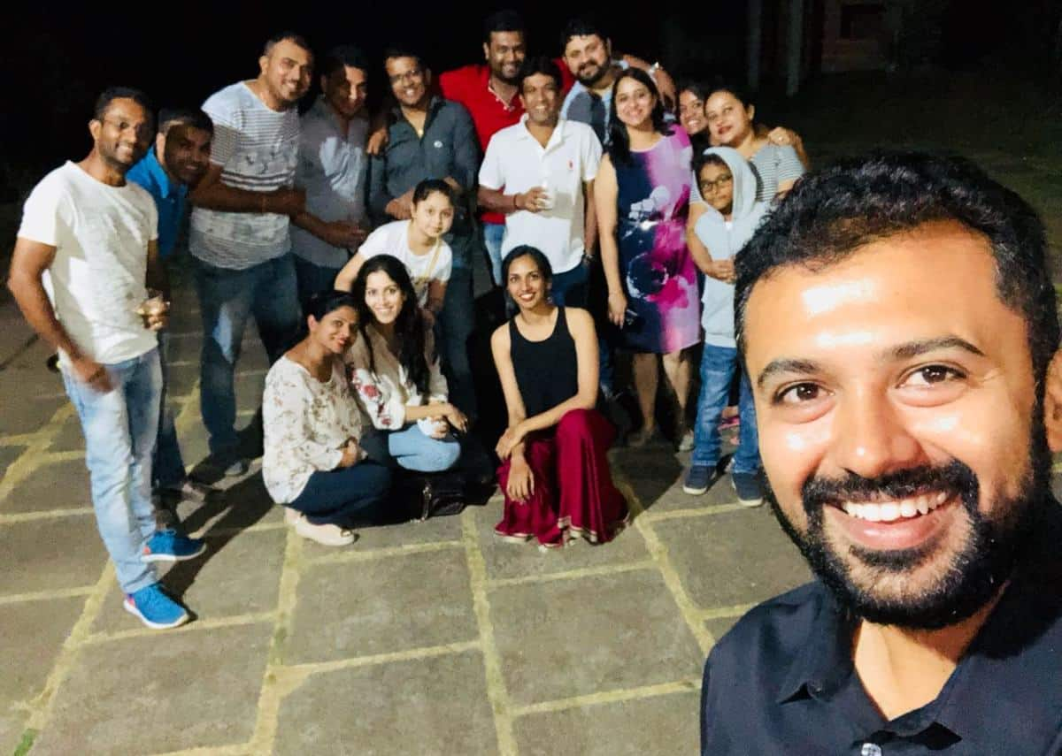 Family get together - Tr. Sachin and Tanmaya's residence