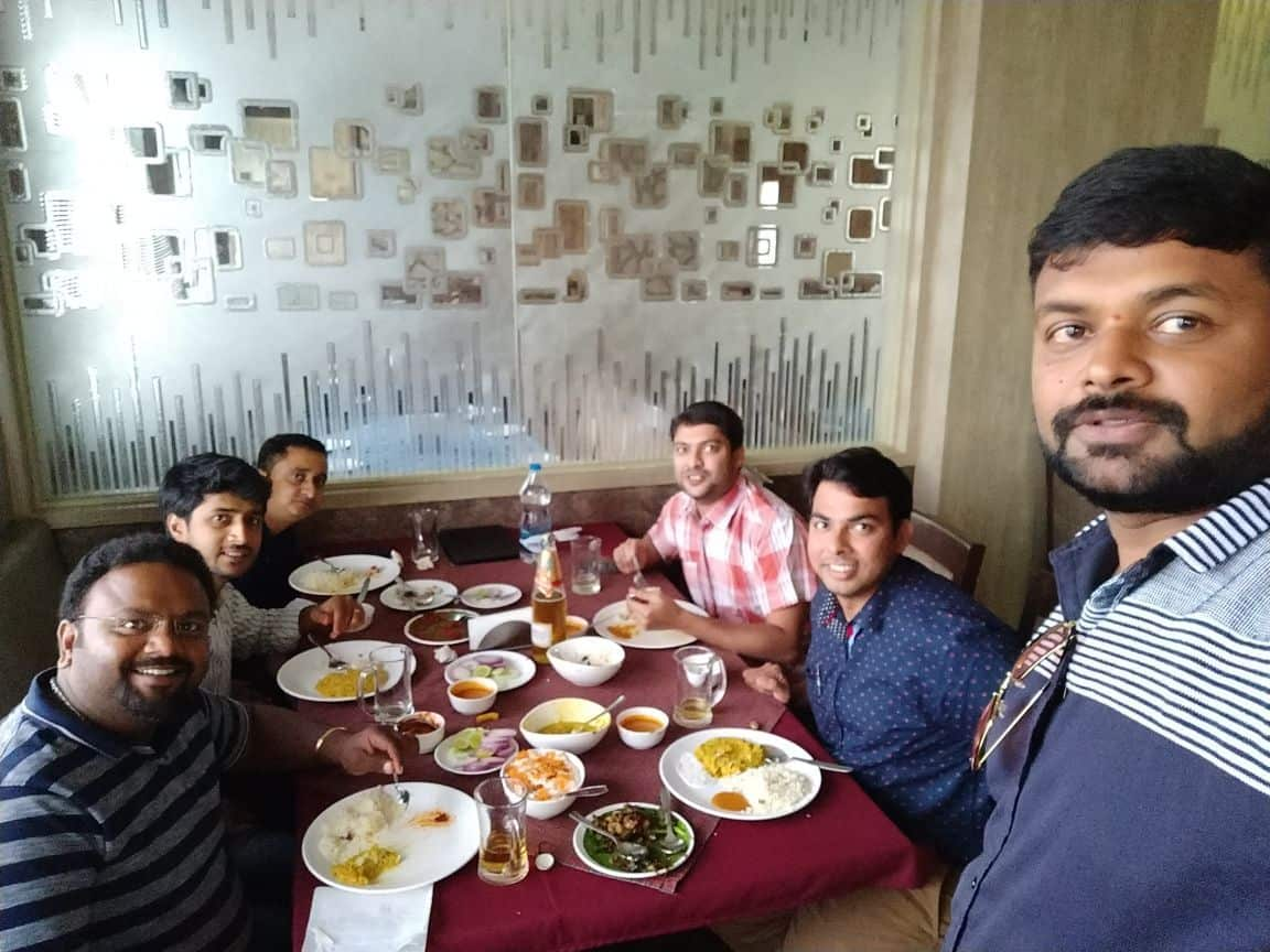 Breakfast with Tr.Kumar Pal