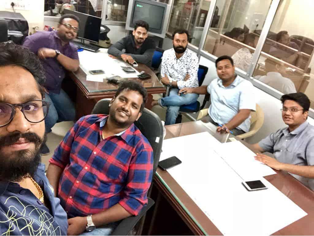 Tea Fellowship in Chairman's Office