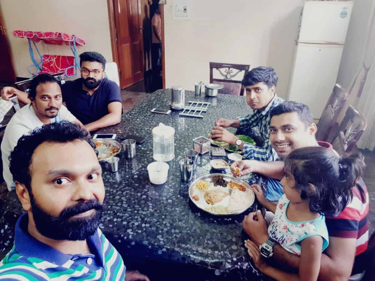Fellowship @ TR. Varun's Residence