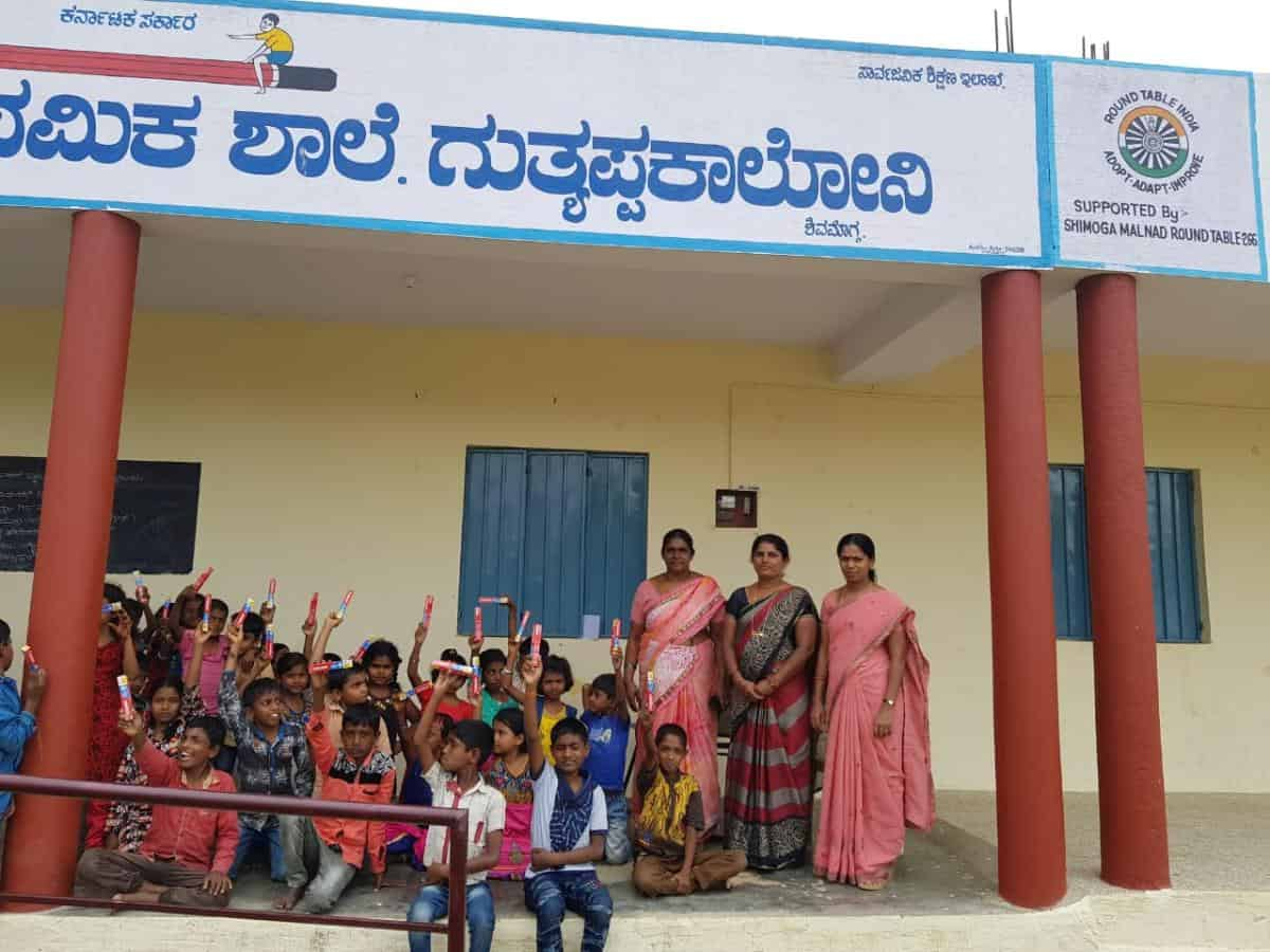 Dental Camp @ Guttiappa School