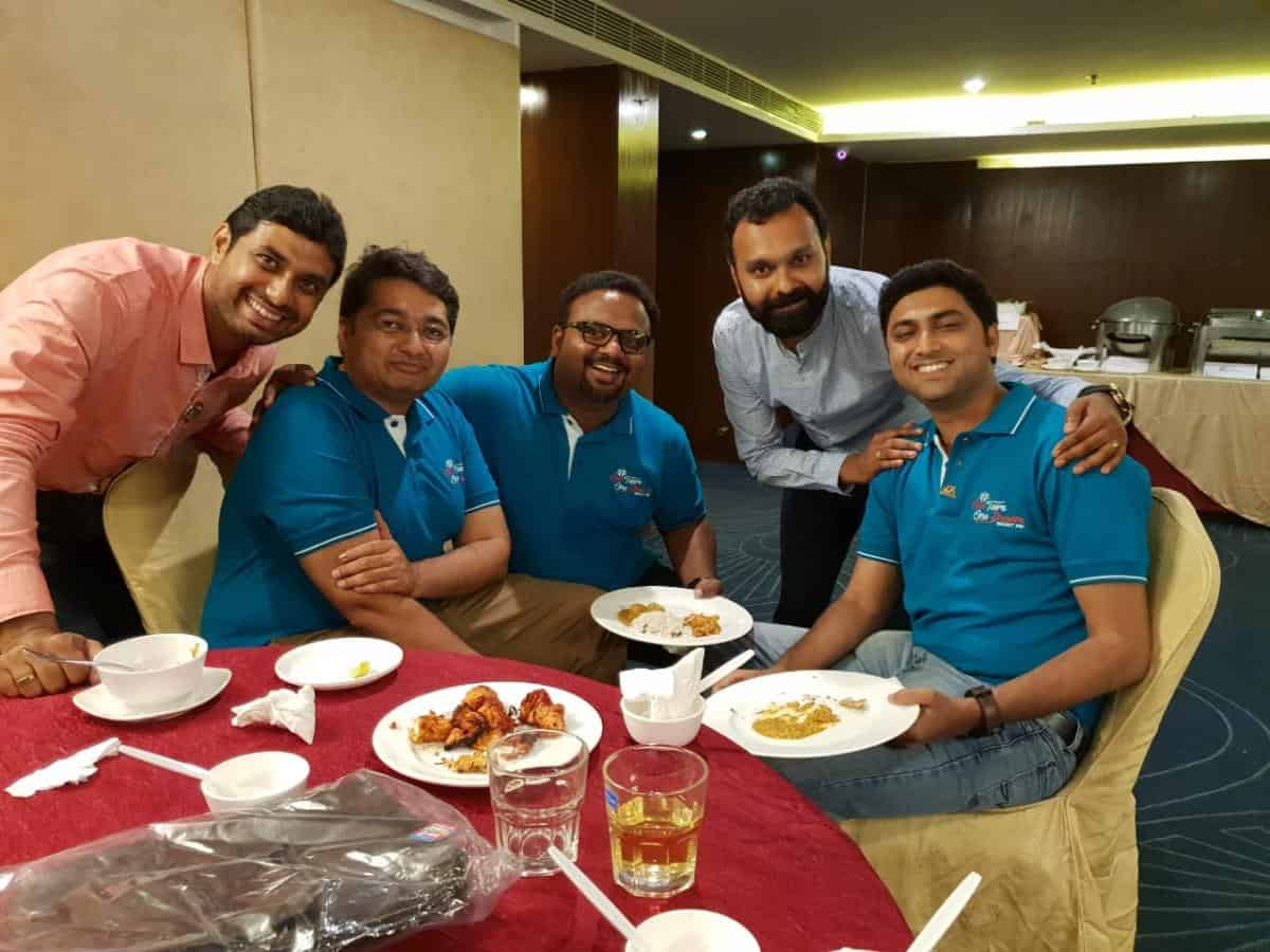 Fellowship in Royal Orchid central with National President