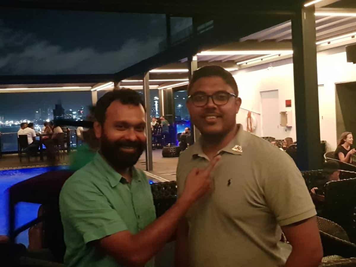 Fellowship with Sri Lankan TRS