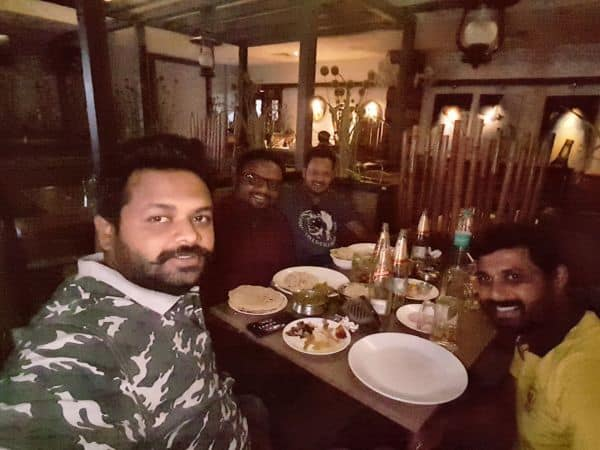 Fellowship with TR Nithin from CRT 164