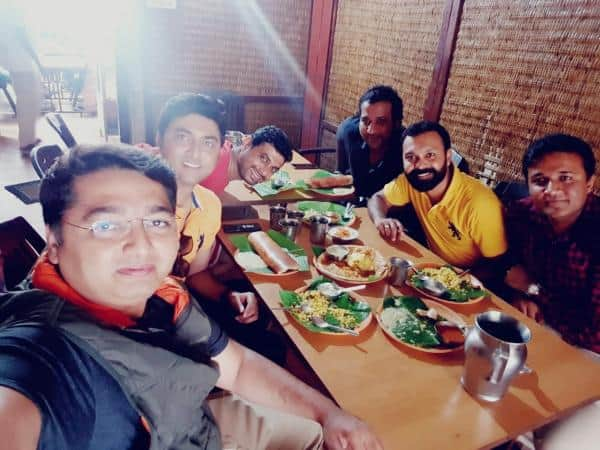 Fellowhip with NP TR Chris @ Meenakshi Bhavan