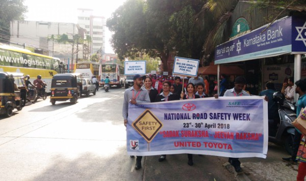 United Toyota Safety March