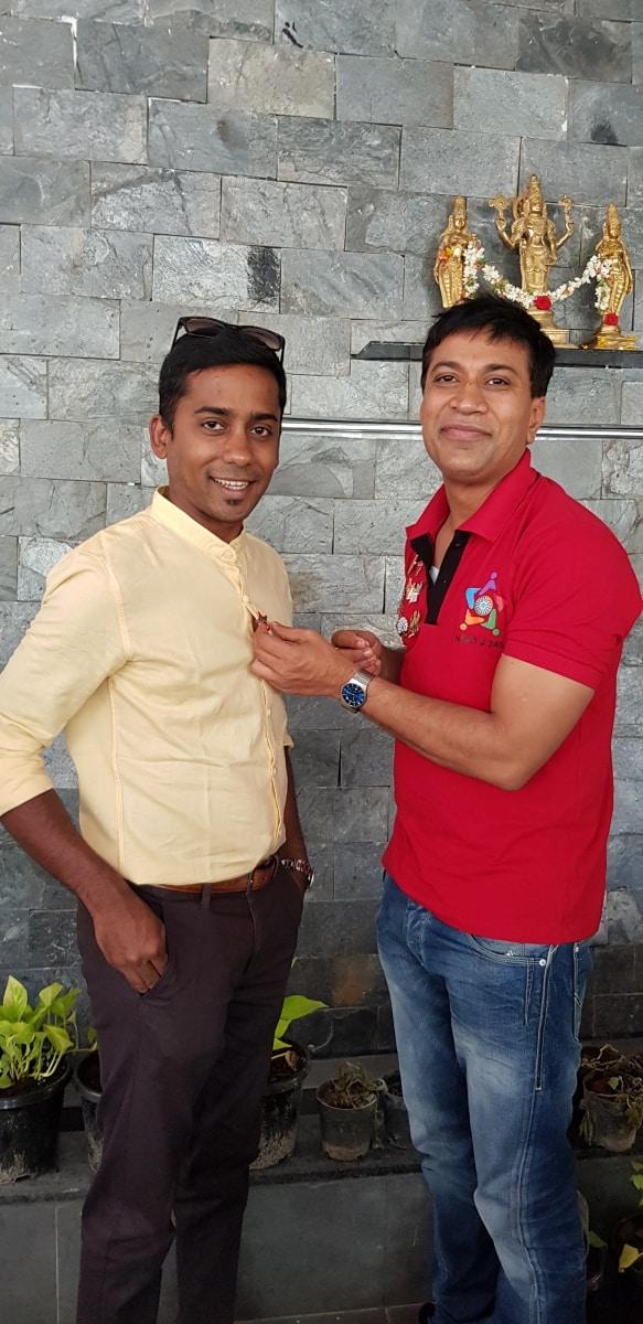 Fellowship with Nasik Tabler Avinash and Family