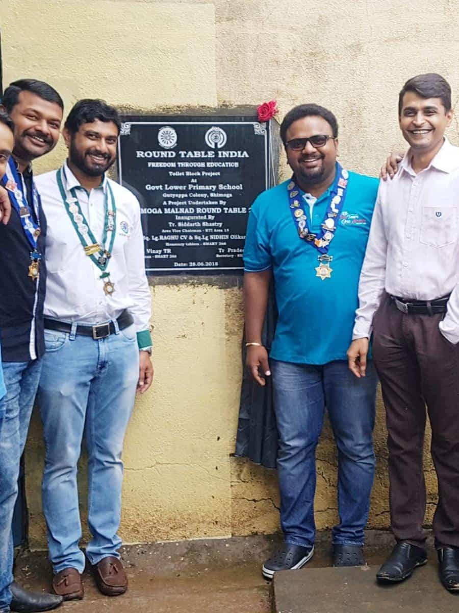 Renovation of Toilet Block in Adopted School