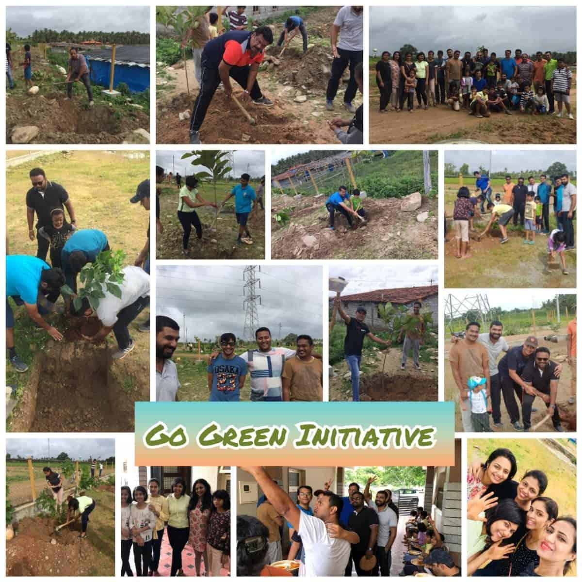 Go Green Project @ Gutti Colony