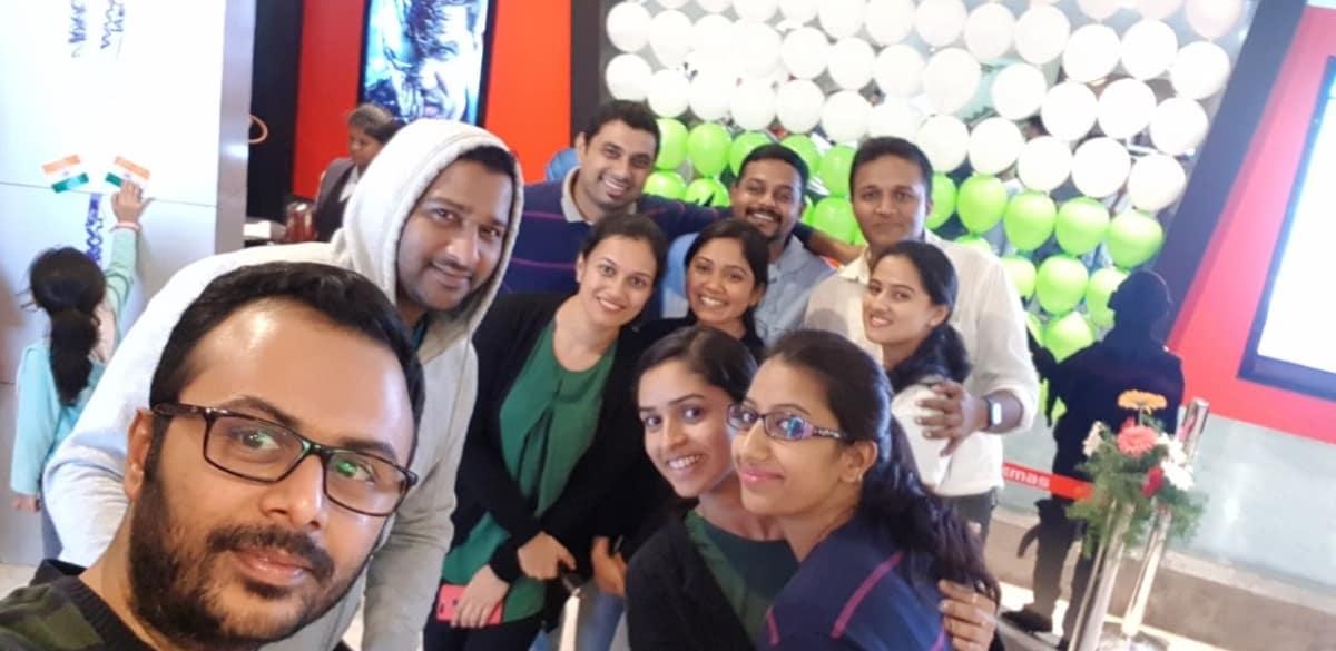 Movie fellowship & Deepa Kaushik bday celebration