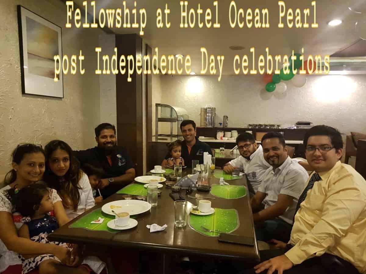 Breakfast at Ocean Pearl