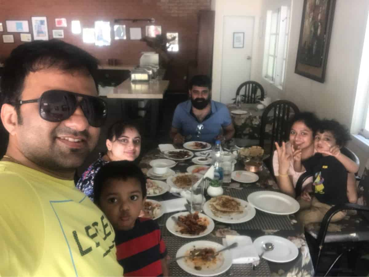 Dinner at Amanvana