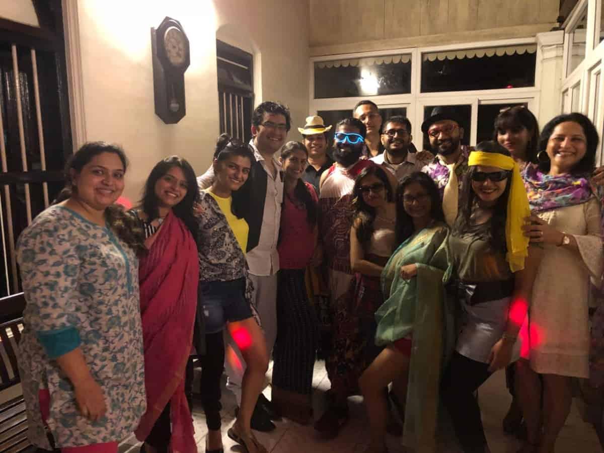 Social at Tr Vinods Residence