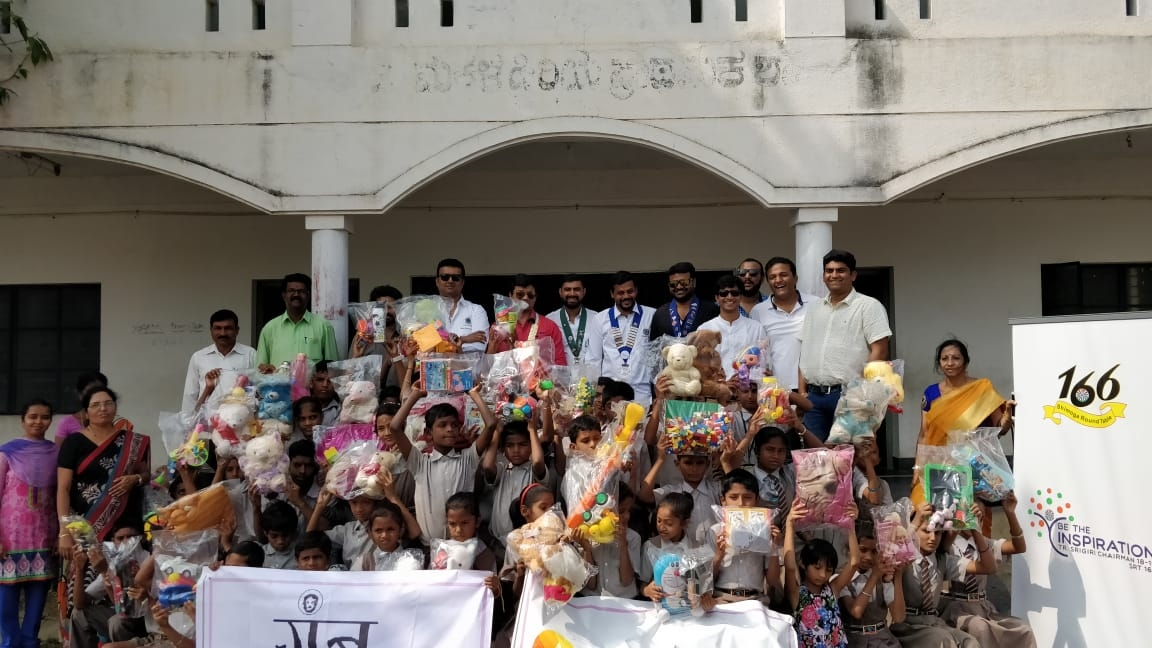 Toys Donation at our adopted school