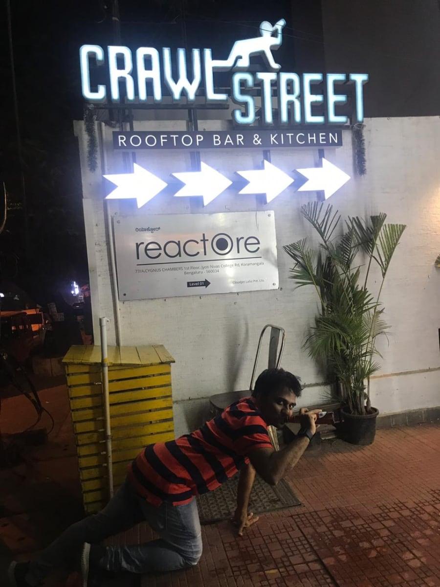 Bangalore Crawl street