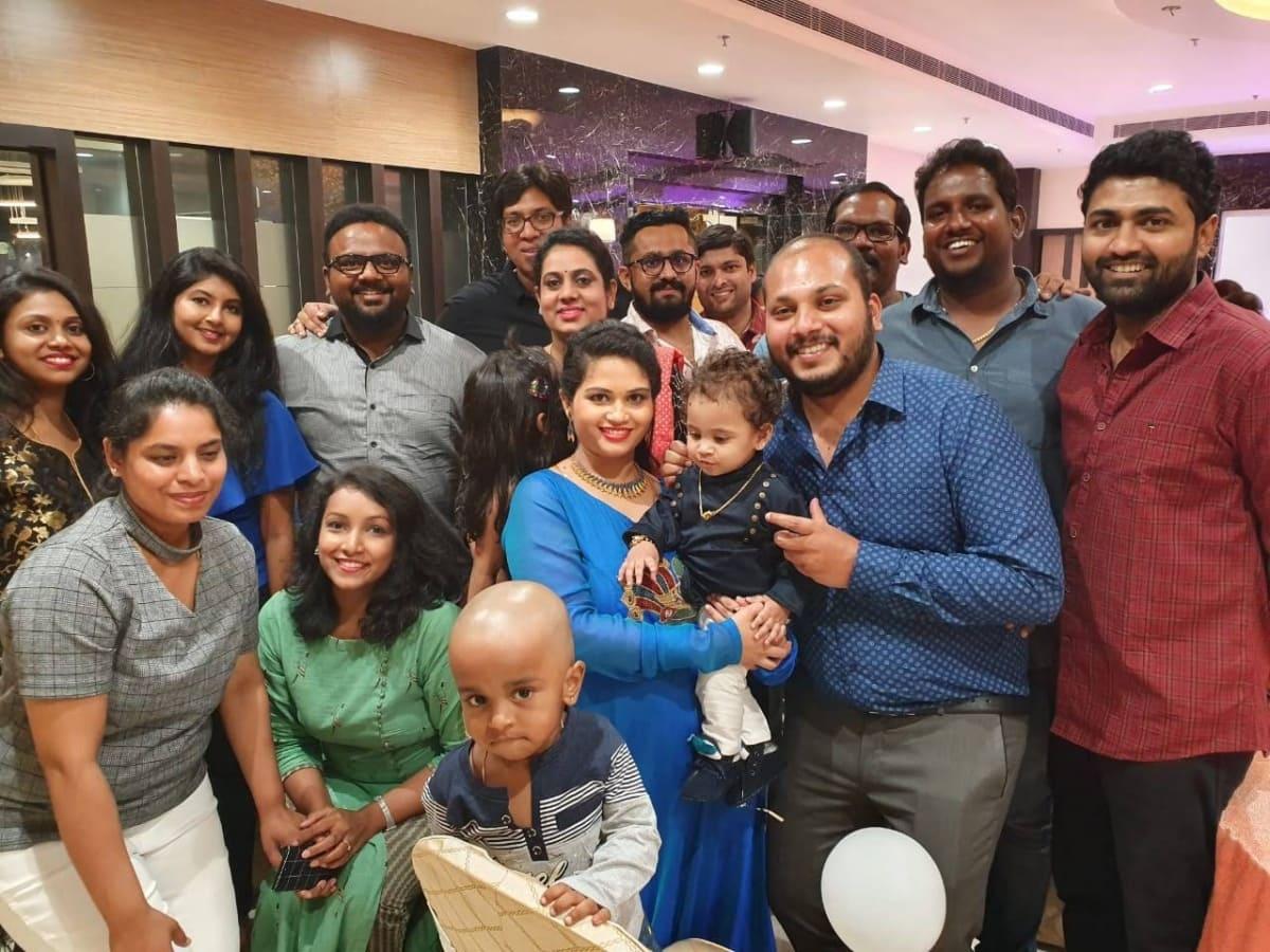 Shabareesh son's Birthday