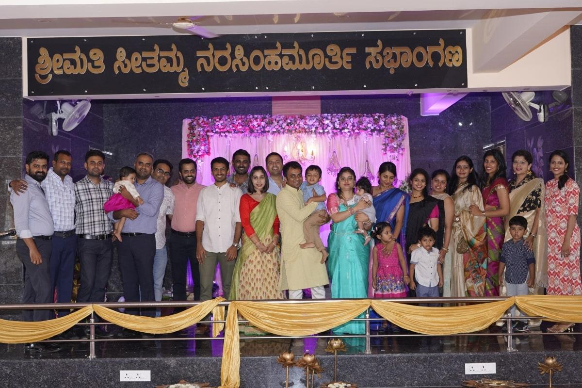 Twinkler Aadya naming ceremony