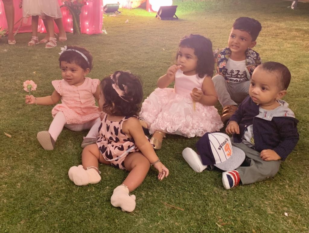Anya baby Birthday party